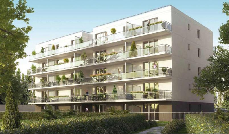 Programme flower appartement neuf n ux les mines 62 for Les appartement moderne