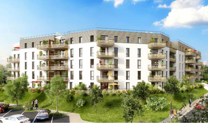 Programme agapanthe appartement neuf blainville sur orne for Programme logement neuf