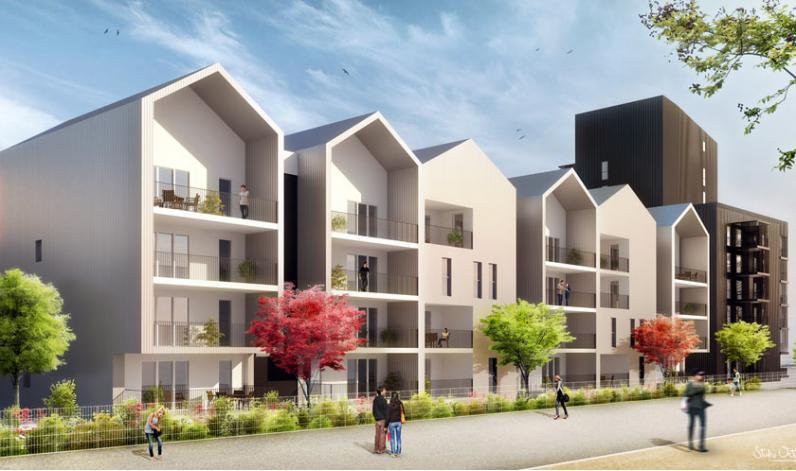 Programme neuf bassins a flot for Appartement bordeaux bassin a flot