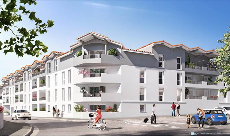 Carre plaisance appartement neuf saint vincent de for Appartement t3 neuf