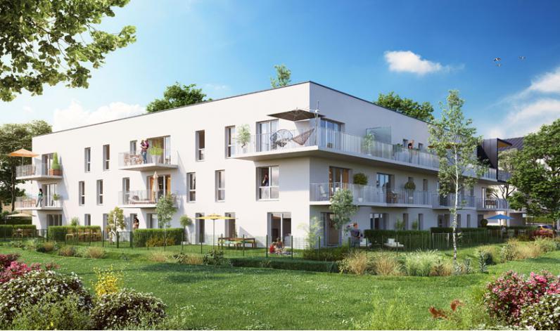 programme carr verde appartement neuf caen 14. Black Bedroom Furniture Sets. Home Design Ideas