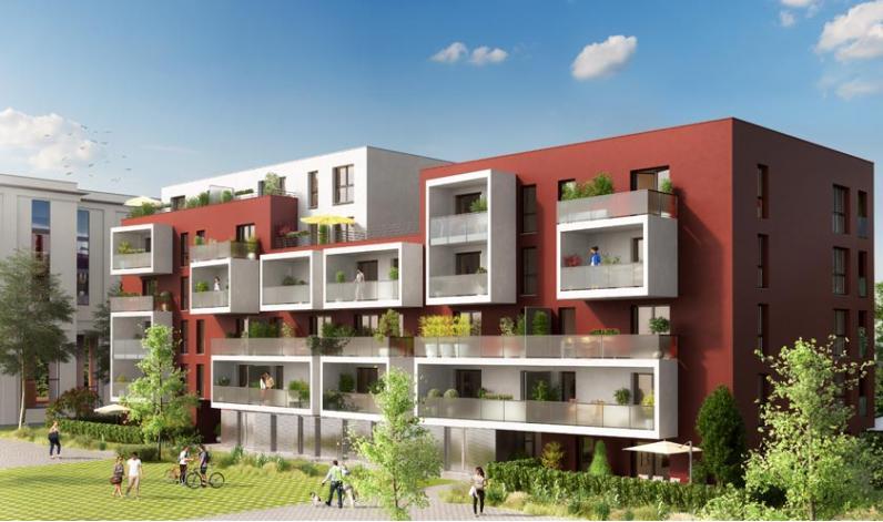 Programme cityside appartement neuf strasbourg 67 for Immobilier du neuf