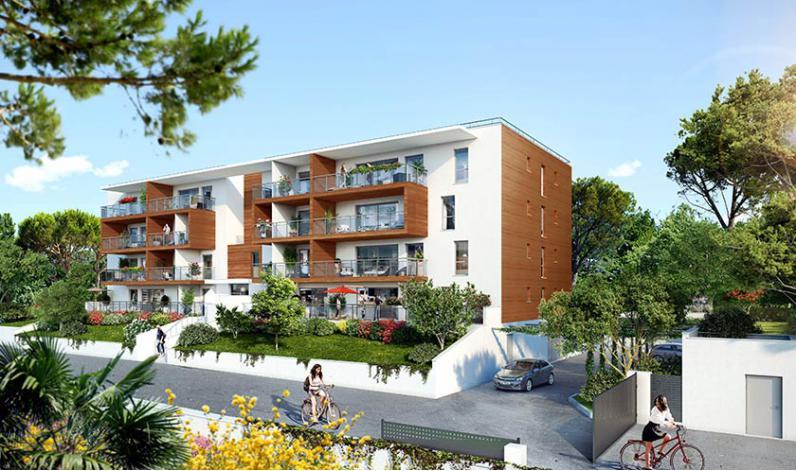 Programme cote parc appartement neuf aix en provence 13 for Appartement atypique aix en provence