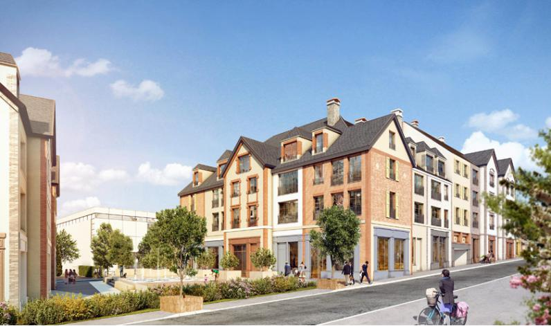 Domont coeur citadin et coeur village appartement neuf for Appartement neuf 95