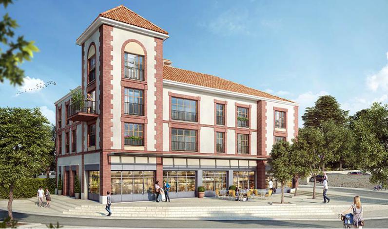 Domont coeur citadin et coeur village appartement neuf for Domont meuble