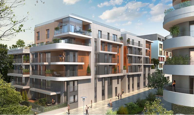 programme elogia appartement neuf bois colombes 92. Black Bedroom Furniture Sets. Home Design Ideas