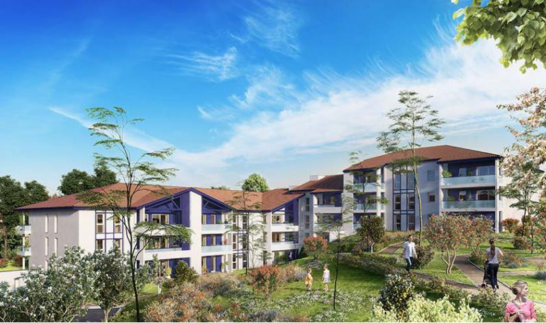 Programme haritzaga appartement neuf bidart 64 for Programme appartement
