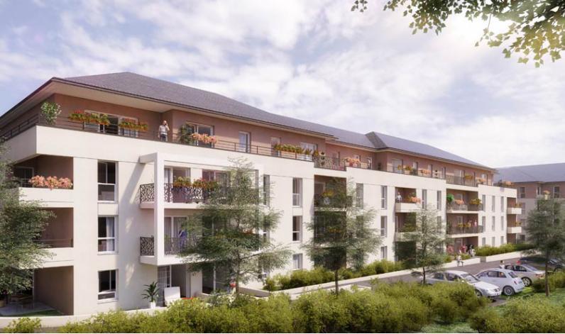 Programme la citadelle appartement neuf le mans 72 for Programme appartement