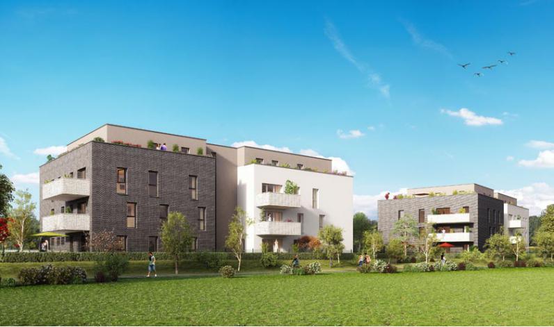 Programme la cle des champs appartement neuf achenheim 67 for Programme de logement neuf