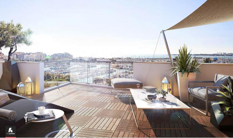 programme la grand 39 voile appartement neuf la rochelle 17. Black Bedroom Furniture Sets. Home Design Ideas
