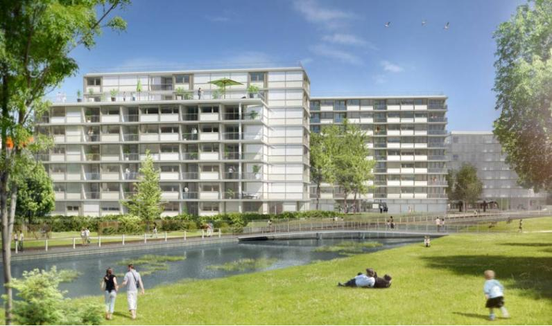 Lago ginko appartement neuf bouygues immobilier for Appartement bordeaux ginko