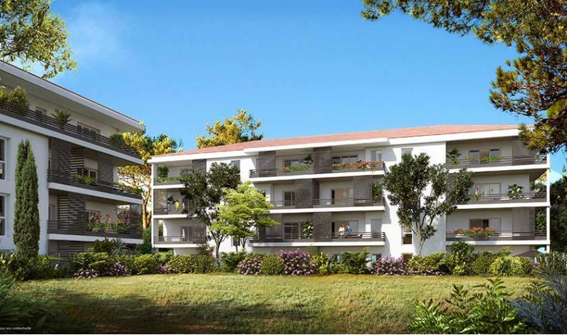 Programme le clos des accates appartement neuf marseille - Programme immobilier salon de provence ...