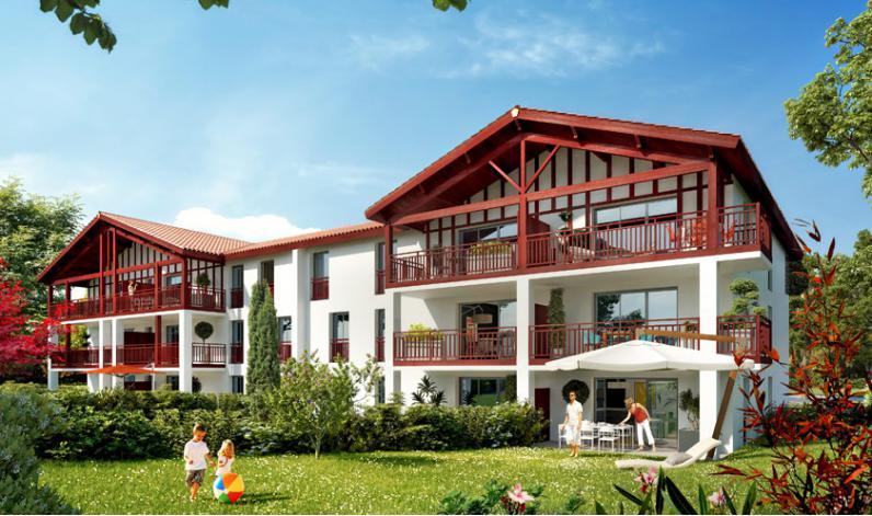 programme le jardin d 39 emma appartement neuf mouguerre 64. Black Bedroom Furniture Sets. Home Design Ideas