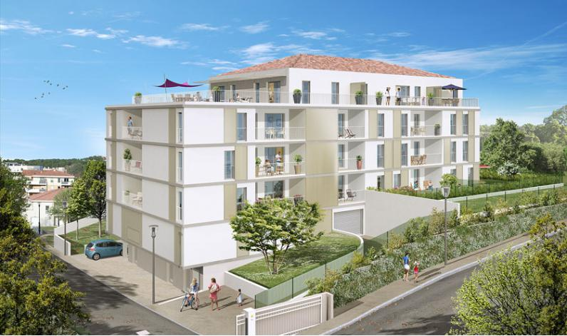 Programme les hauts de camoins appartement neuf for Appartement t3 neuf