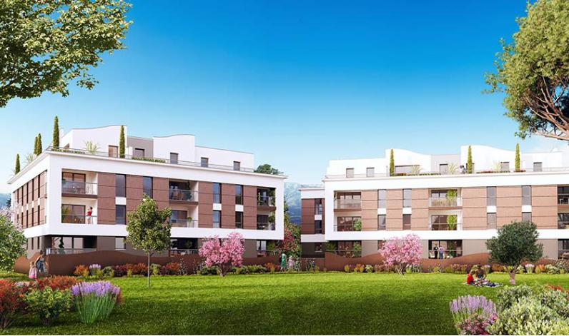 Programme les jardins d 39 olympe appartement neuf for Appartement t3 neuf