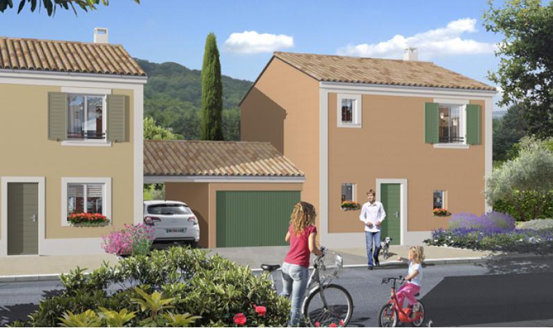 Les villas de chateauneuf appartement neuf bouygues for Construction maison mitoyenne plan