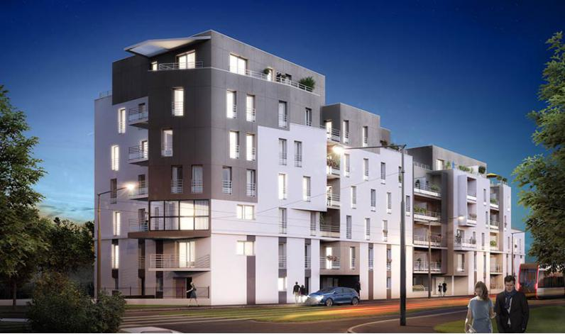 Programme linko appartement neuf tours 37 for Appartement t3 neuf