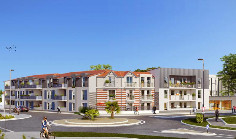 Residence allionis appartement neuf ch telaillon plage 17 for Residence neuf