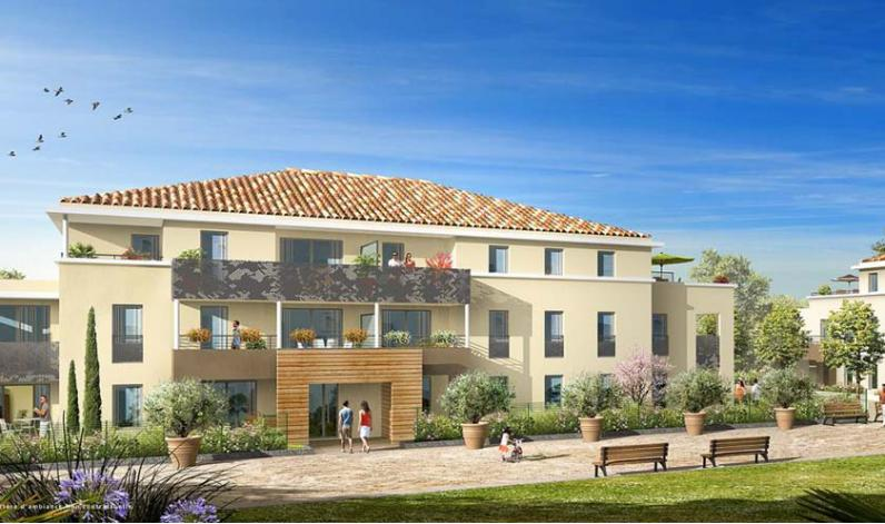 Programme residence lyloa appartement neuf six fours les for Programme appartement