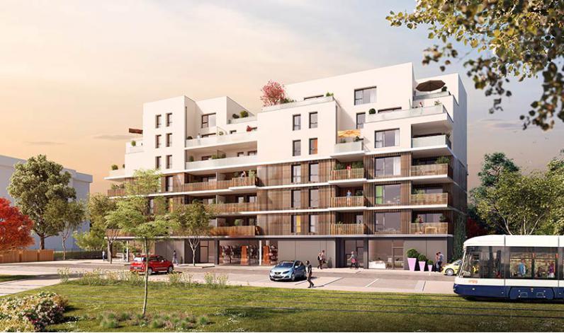 Programme sakura 2 appartement neuf ambilly 74 for Programme logement