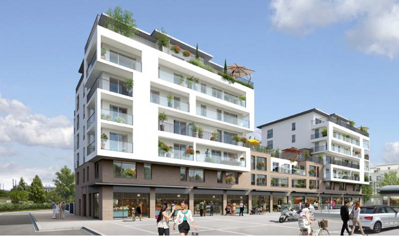Programme terrasses de l 39 evasion appartement neuf for Appartement neuf 95
