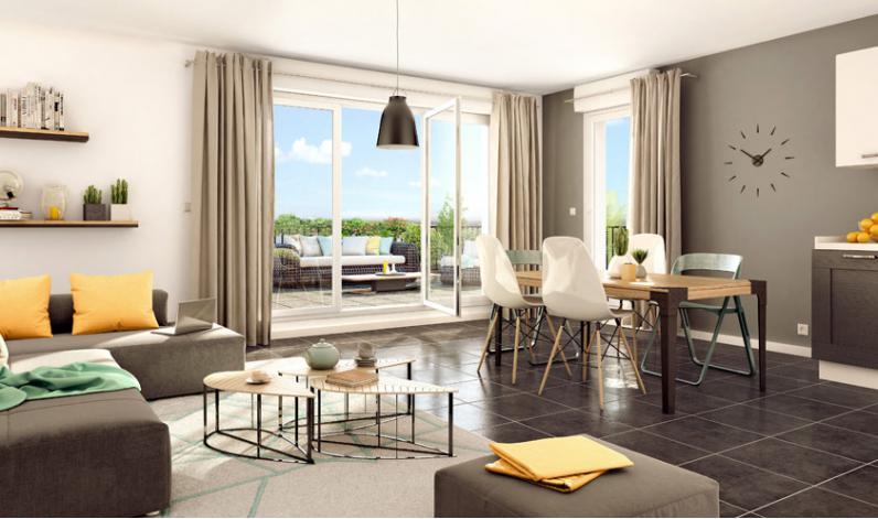 Programme terrasses de l 39 evasion appartement neuf for Appartement neuf 95