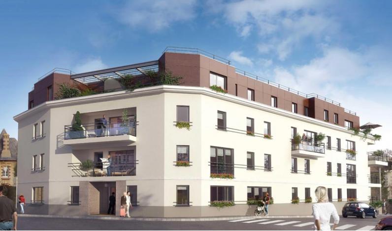 villa monceau caen appartements neufs. Black Bedroom Furniture Sets. Home Design Ideas