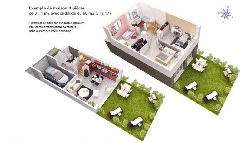 Villas estel perpignan maisons neuves for Constructeur maison individuelle kaufman