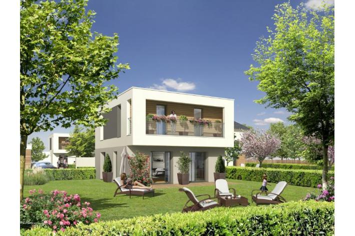 Le jardin des lys vert saint denis appartements neufs for Appartements le jardin
