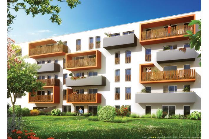 Le carr du th tre 2 appartement neuf procivis ouest for Appartement meuble la roche sur yon