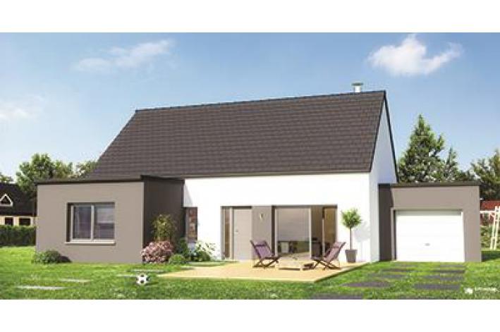 Prix maison neuve m2 maison neuve brehal 4 pices 80 m2 for Achat maison neuve nord