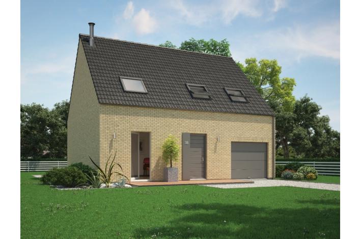 Vente terrain escaudain terrain constructible vendre for Maison phenix valenciennes