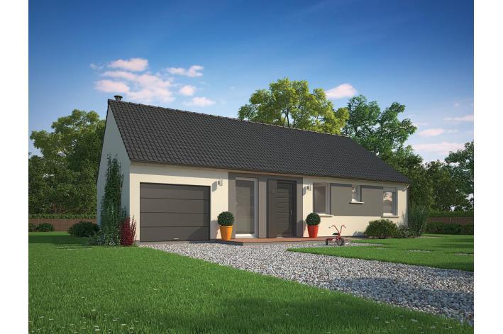 Vente terrain constructible estr es 5915184m vendre for Maison phenix valenciennes