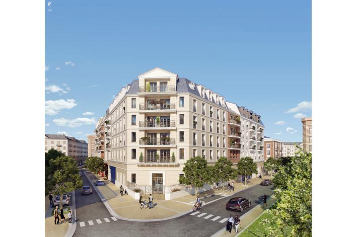 programme renaissance appartement neuf la garenne colombes 92. Black Bedroom Furniture Sets. Home Design Ideas