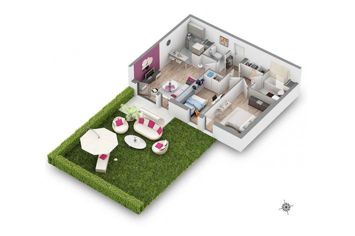 programme signature chapitre 2 appartement neuf thiais 94. Black Bedroom Furniture Sets. Home Design Ideas
