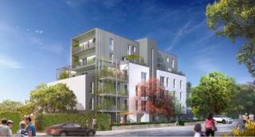 Programme le carre des bois appartement neuf rennes 35 for Appartement t3 neuf