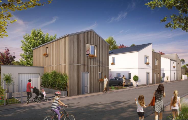 le clos du petit bois appartement neuf saint jean de la ruelle 45. Black Bedroom Furniture Sets. Home Design Ideas