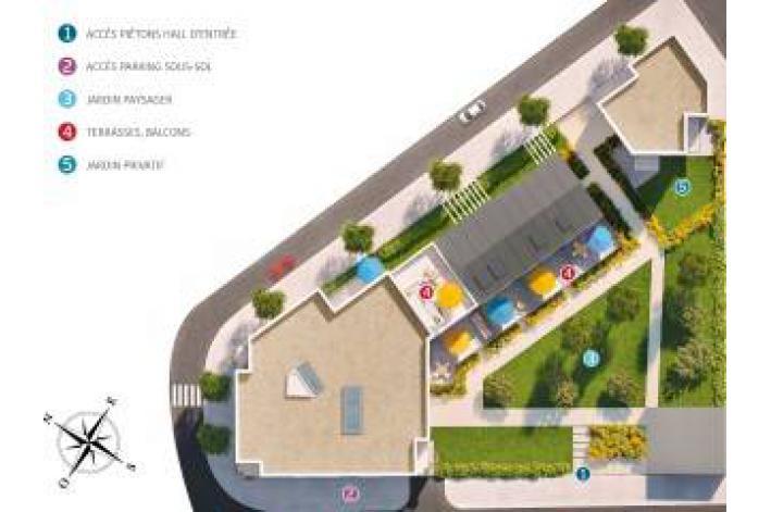 Programme renouv 39 o appartement neuf goussainville 95 for Piscine de goussainville
