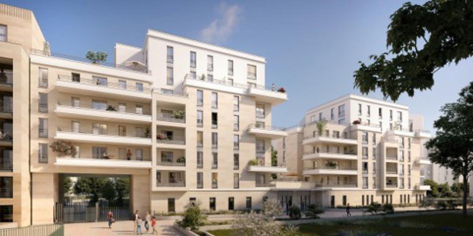 Programme Terrasses En Ciel Appartement Neuf Clichy 92