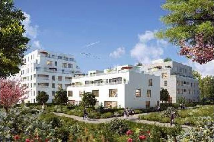Programme villanova romainville appartement neuf for Appartement atypique romainville