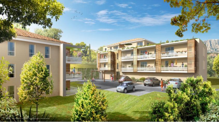 Programme aqua viva appartement neuf rousset 13 - Programme immobilier salon de provence ...