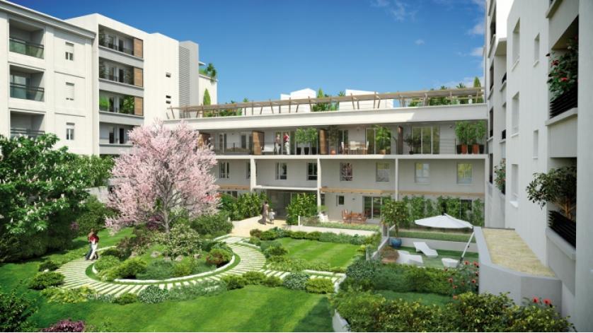 Programme coeur euromed appartement neuf marseille 13 - Programme immobilier salon de provence ...