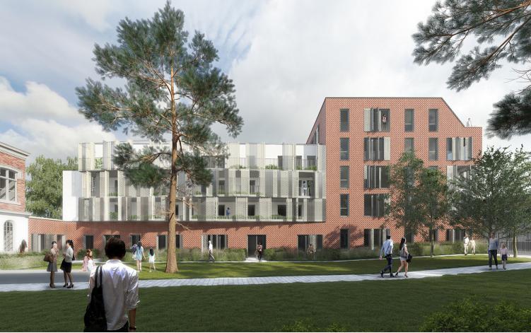 Les jardins du clo tre appartement neuf patrimonial for Appartements le jardin