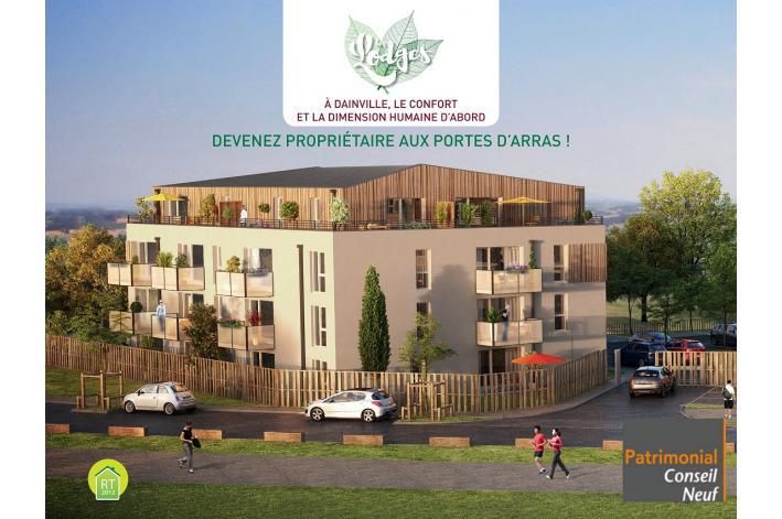 programme les lodges appartement neuf dainville 62. Black Bedroom Furniture Sets. Home Design Ideas