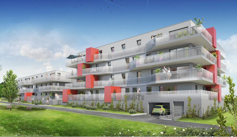 Programme les grenadines appartement neuf vezin le for Programme appartement