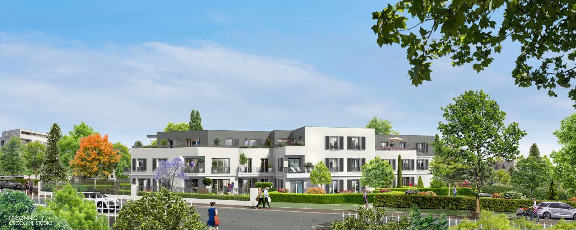 Programme le hameau des vignes appartement neuf ermont 95 for Appartement neuf 95
