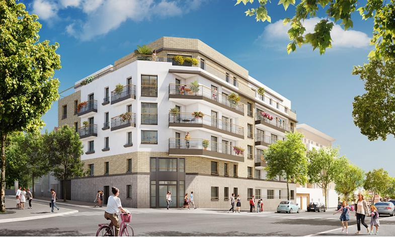 Programme nuance urbaine appartement neuf bourg la reine for Programme appartement