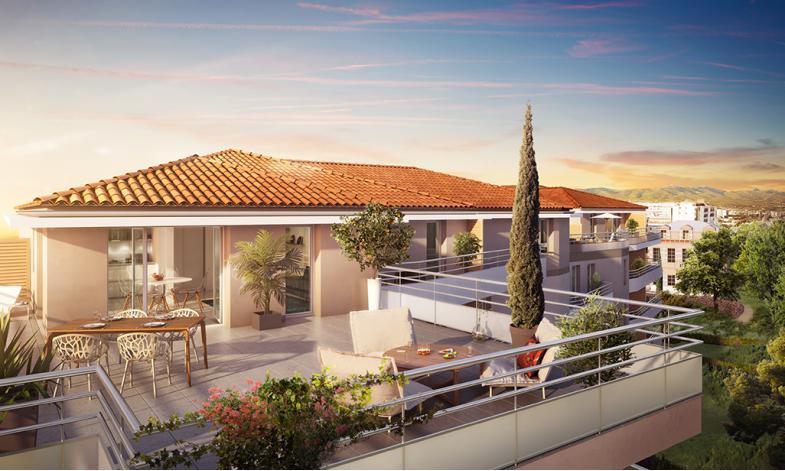 Programme patio saint joseph appartement neuf marseille 13 for Bus salon miramas