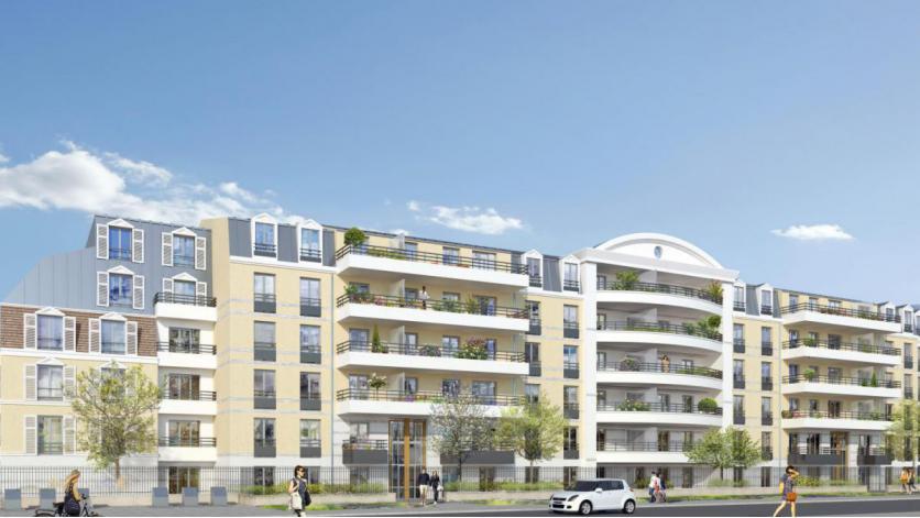 programme residence des lys appartement neuf franconville 95. Black Bedroom Furniture Sets. Home Design Ideas