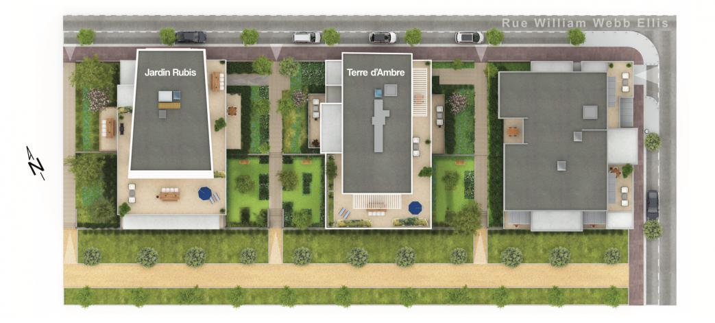 Programme Jardin Rubis Appartement Neuf Montpellier 34